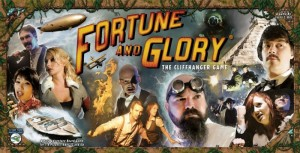Fortune & Glory board game cover