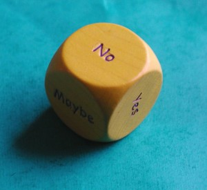 'indecision dice' by snigl3t on Flickr