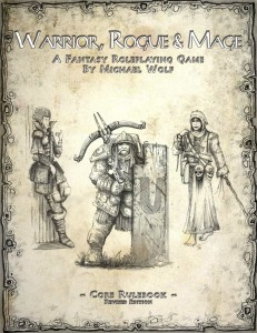 Warrior, Rogue, & Mage cover